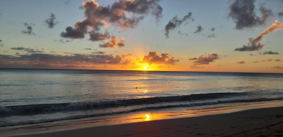 tramonto Anse des Salines Martinica - le spiagge più belle
