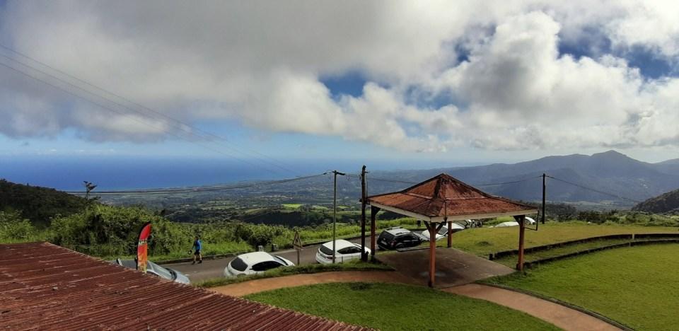 Punto panoramico Montagne Pelée, Martinica - cosa vedere, cosa visitare