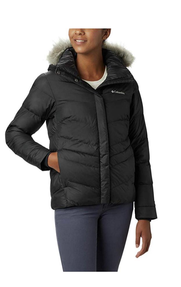 Women's puffy coat
