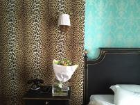 Les fleurs et le léopard