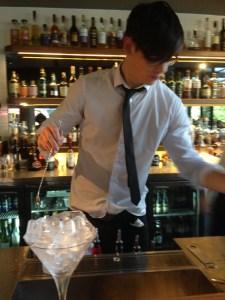 mixing martini