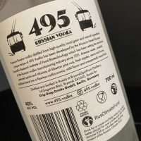 Review: 495 Russian Vodka