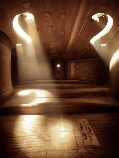 Inside violin