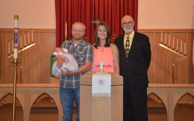 Evelyn Bea Rippe – Baptism