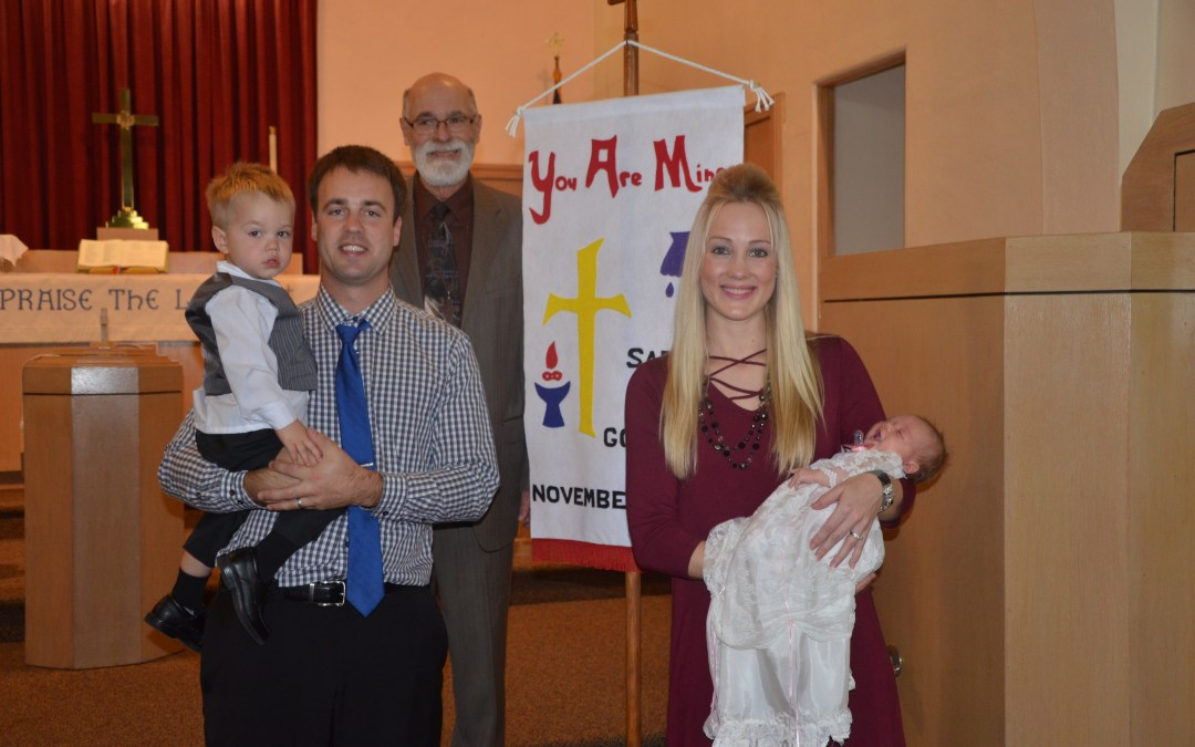 Sadie Rose Gossman – Baptism