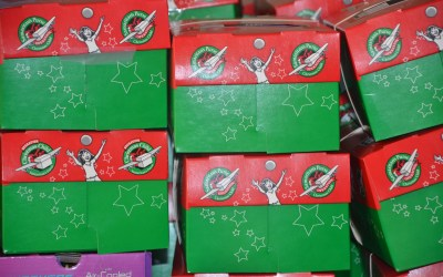 Operation Christmas Child – Good News!  Great Joy!