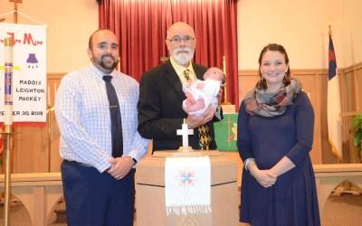 Maddix Leighton Mackey – Baptism