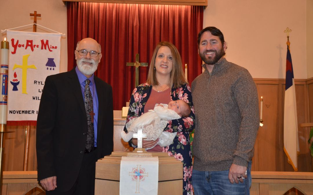 Ryleigh Lucy Williams – Baptism