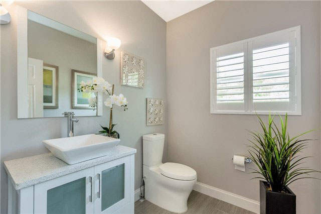 bathroom renovations - toilet & sink