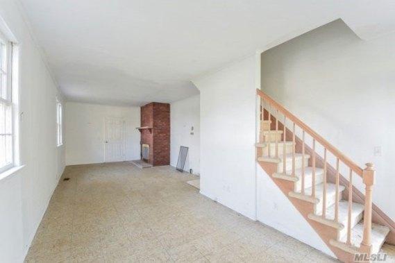 Flanders stair & fireplace - before