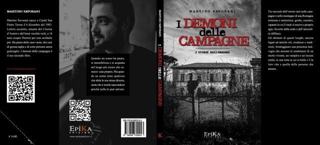 I demoni delle campagne - 3 storie dell'orrore di Martino Savorani