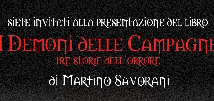 I demoni delle campagne di Martino Savorani al Mens Sana di Faenza