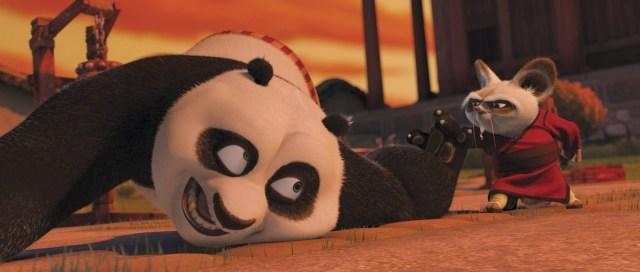 Kung Fu Panda: Shifu allena Po