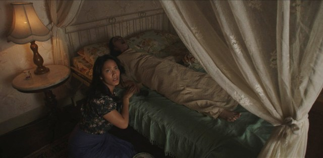 un'immagine del film Satan's slaves