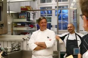 Werner Schürch und Rico bei der Team Besprechung
