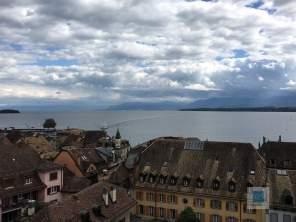 Ausblick von der Schloss Terrasse