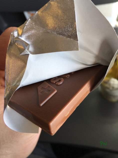 London 2016 mit Huawei - SWISS Schokolade