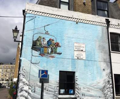 London 2016 mit Huawei – Street-art in der Stadt London