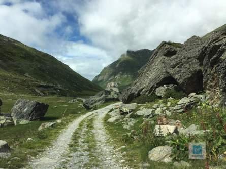 Der Weg zur Alp