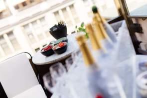 Lanson Lunch im Rooftop Restaurant Zürich