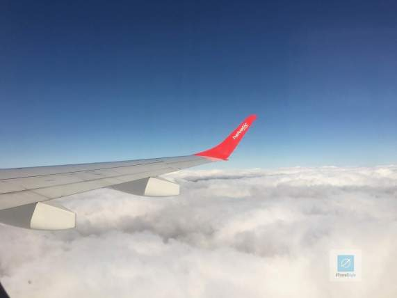Flug mit Helvetic airways