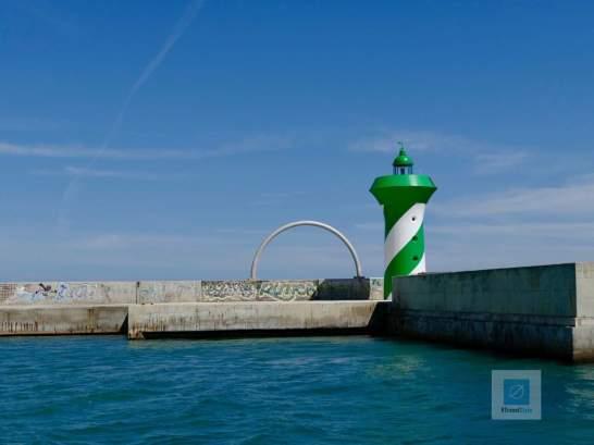 Der Leuchtturm am Ende vom Hafen