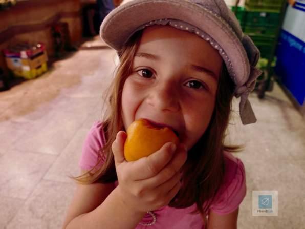 Frucht zum Frühstück