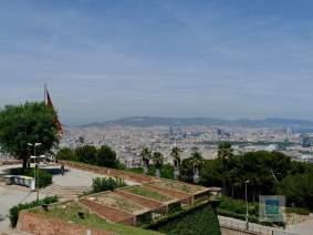 Blick vom Castell Montjuic
