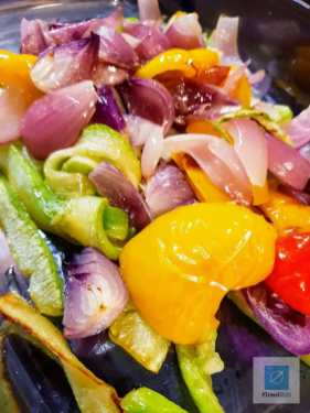 Frisches Gemüse gehört in den Backofen
