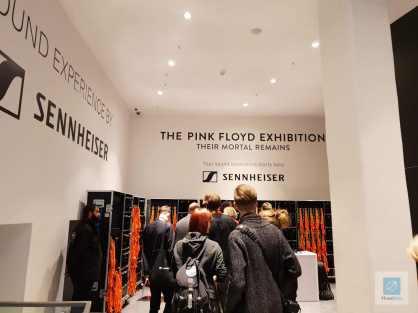 Der Eingangsbereich der Ausstellung