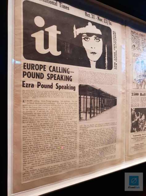 Zeitungsausschnitte aus lange vergangener Zeit