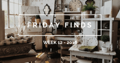 Friday finds: Week 12 -2018