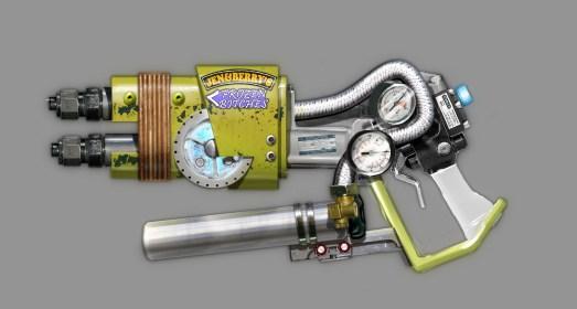Duke Nukem Begins final Freeze Gun concept.