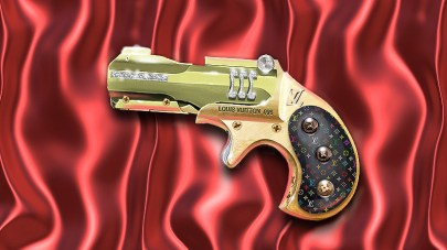 Ladies derringer by Loius Vutton.