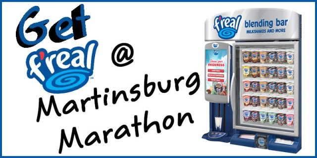 F'real Milkshakes at Martinsburg Marathon