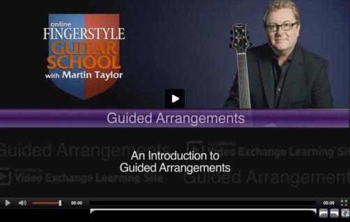 Guided Jazz Guitar Arrangements