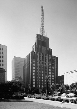 The Richfield Building in the last days, ca.1969