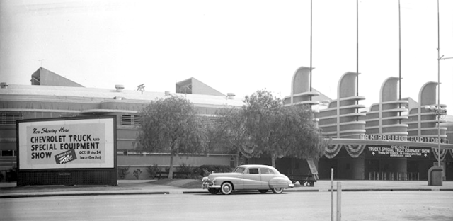 Chevrolet Truck and Special Equipment Show at the Pan Pacific, October 22, 1948.