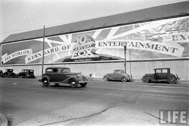 20th Century Fox - the world's standard of entertainment excellence, circa mid 1930s