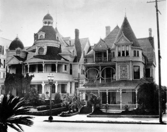 The Melrose Hotel and the Hotel Richelieu on Bunker HIll, Los Angeles