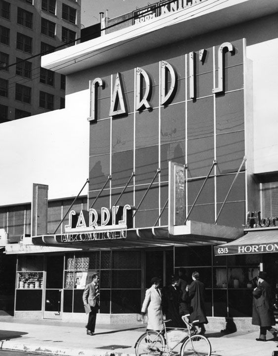 Sardi's Resturant, Hollywood Blvd, 1937