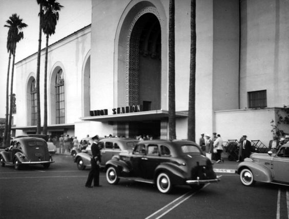 Downtown's Union Station in 1939, the year it opened