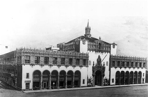 Los Angeles Herald Express building at 11th Street and Broadway, downtown Los Angeles