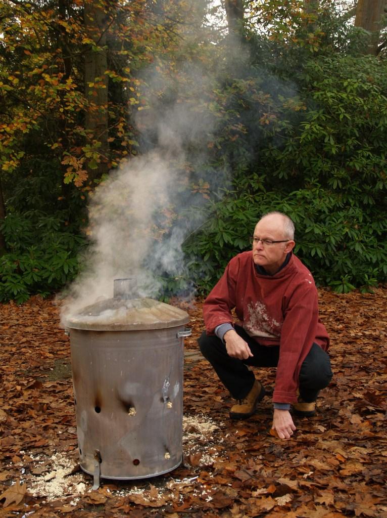 Sawdust firing 2017