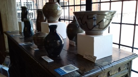 Guildford House Gallery part display Martin Tyler
