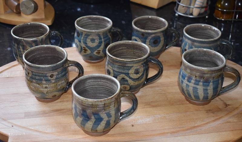 Minoan mugs, Martin Tyler 2020