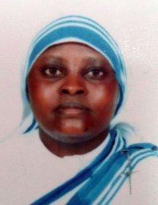 La Hermana Judith era de Kenia, nació el 2 de febrero de 1975. Tenía 41 años de edad.