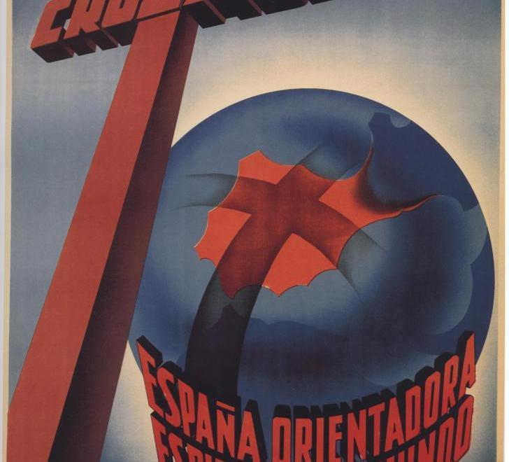 Cartel del bando nacional hacia 1937.