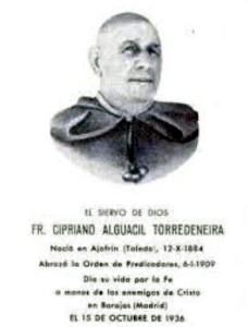 Beato Cipriano Alguacil.