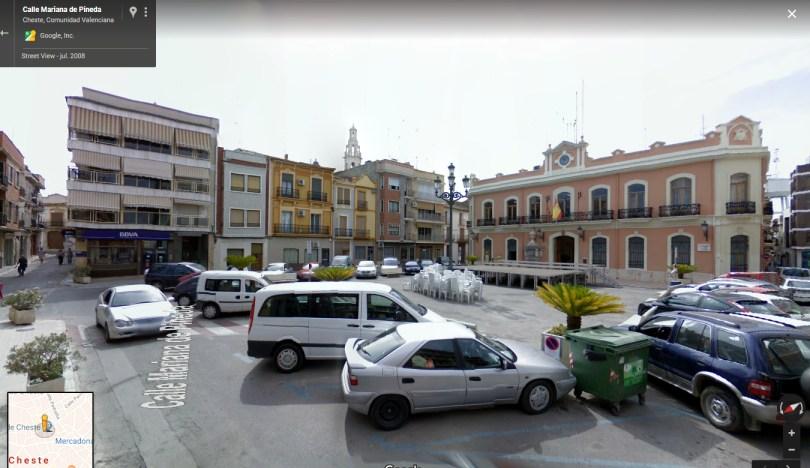 Plaza mayor (Dr. Cajal) de Cheste.